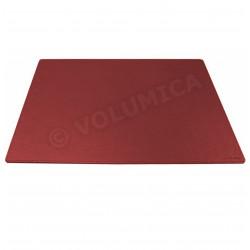 Sous-main rigide cuir Rouge-bordeaux Beaubourg