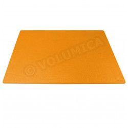 Grand Sous-main rigide cuir Orange Beaubourg