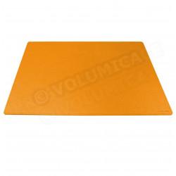 Très grand Sous-main rigide cuir Orange Beaubourg