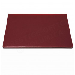 Petit Sous-main à rabat  cuir Rouge-bordeaux Beaubourg