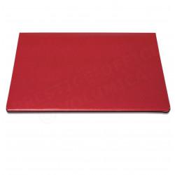 Petit Sous-main à rabat  cuir Rouge Beaubourg
