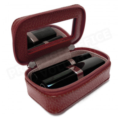 Mignonette à bijoux cuir Rouge-bordeaux Beaubourg