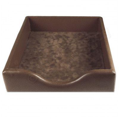 Boîte à courrier cuir Marron Beaubourg