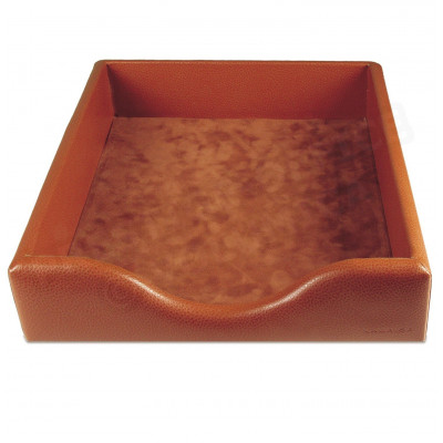Boîte à courrier cuir Gold Beaubourg