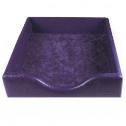 Boîte à courrier cuir Violet Beaubourg