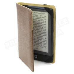 Etui kindle cuir Marron Beaubourg
