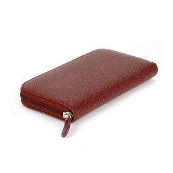 Portefeuille Frenchy cuir Rouge-bordeaux Beaubourg