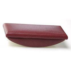 Tampon buvard cuir Rouge-bordeaux Beaubourg