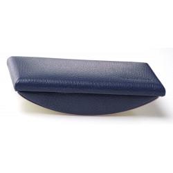 Tampon buvard cuir Bleu-marine Beaubourg