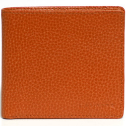 Portefeuille Slim Orange Beaubourg
