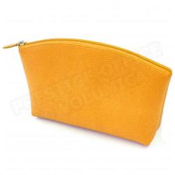 Trousse de voyage cuir Orange Beaubourg