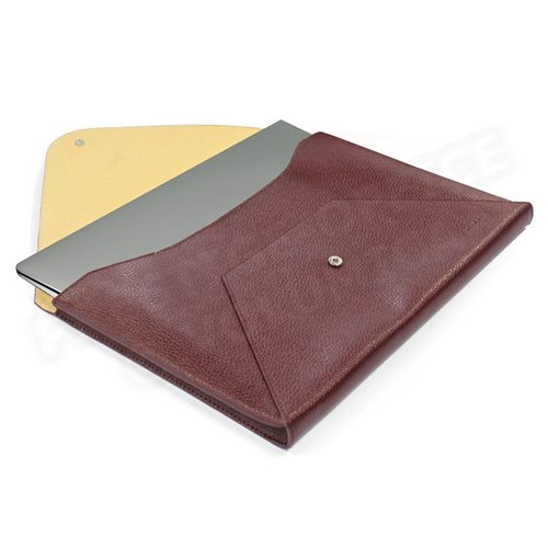 Etui Mac book air cuir Marron Beaubourg