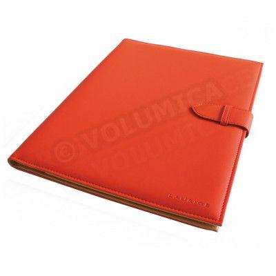 Conférencier portfolio A4 Orange Corfou