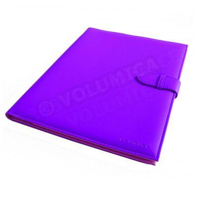 Conférencier portfolio A4 Violet Corfou