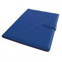 Conférencier portfolio A4 Bleu-marine Corfou
