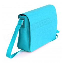 Besace coloris Bleu turquoise Corfou