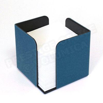 Bloc-notes cube Bleu-marine Corfou
