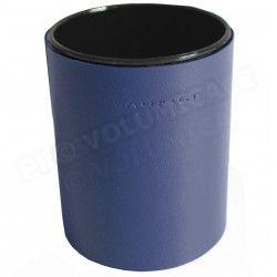 Pot à crayons rond Bleu-marine Corfou
