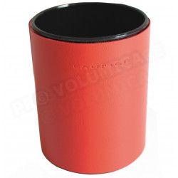 Pot à crayons rond Rouge Corfou