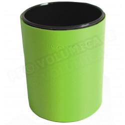 Pot à crayons rond Vert-anis Corfou