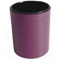 Pot à crayons rond Violet Corfou