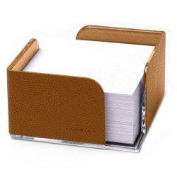 Bloc-notes cube en Cuir Gold Collection Lafayette