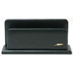 Porte-lettres/courrier en Cuir Vert Collection Windsor