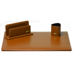Parure de bureau Cuir Gold N°10 Collection Windsor