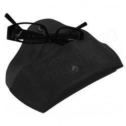 Etui lunettes rigide cuir Noir Beaubourg