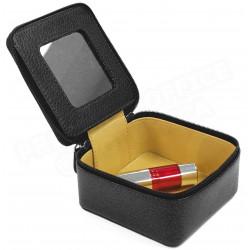 Boîte à bijoux cuir Noir Beaubourg
