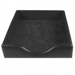 Boîte à courrier cuir Noir Beaubourg