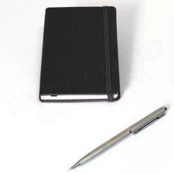 Mini carnet de voyage 13x9 Noir Corfou